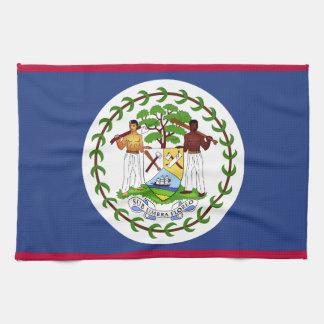 Belize Flag Kitchen Towel