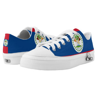 Belize Flag Low-Top Sneakers