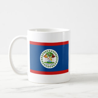 Belize Flag ~ Map Mug