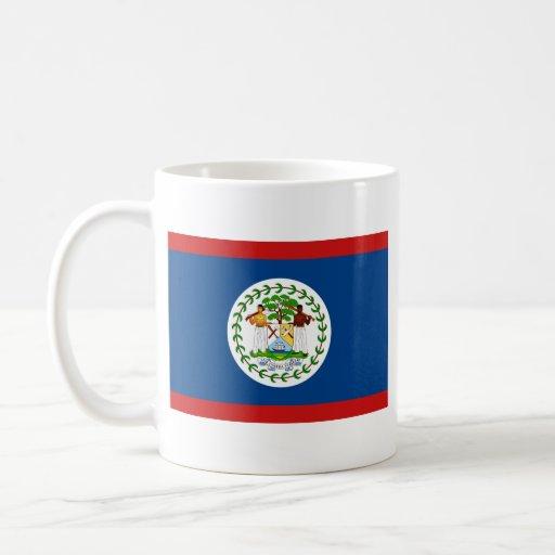 Belize Flag ~ Map Mug