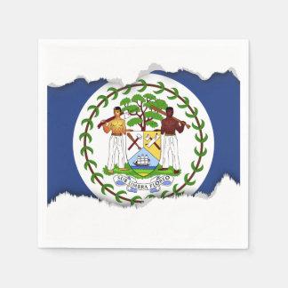 Belize Flag Paper Napkins