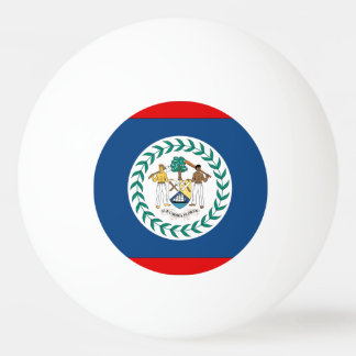 Belize Flag Ping-Pong Ball