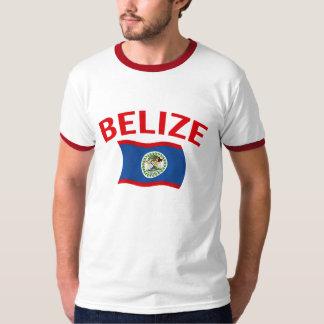 Belize Flag - Red T-Shirt