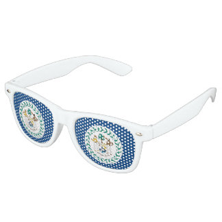 Belize Flag Sunglasses