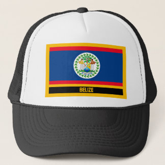 Belize Flag Trucker Hat