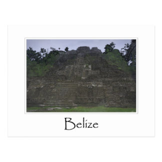 Belize Mayan Temple in Central America Postcard