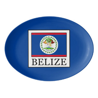 Belize Porcelain Serving Platter