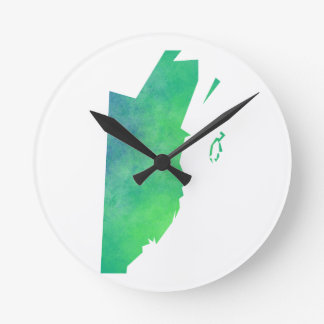 Belize Round Clock