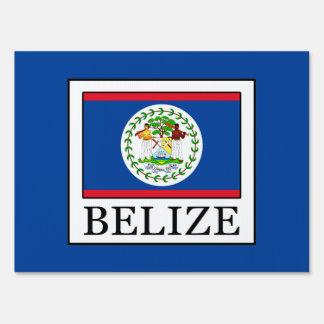 Belize Sign