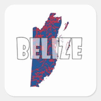 Belize Square Sticker