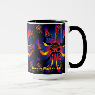 Belizean Black Orchid Mug