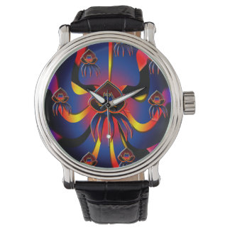 Belizean Black Orchid Watch