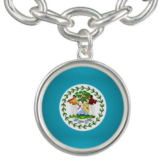 Belizean coat of arms bracelets