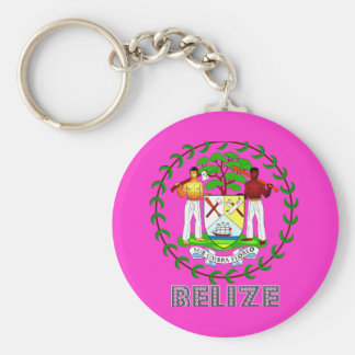 Belizean Emblem Keychain