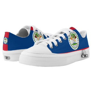 Belizean Flag Low-Top Sneakers