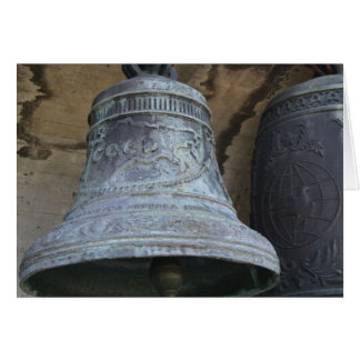 Bell ССР USSR Bell Photo  Greeting Card