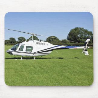 Bell 206B JetRanger II Helicopter Mousepad