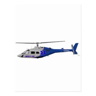Bell 230 EMS Postcard