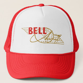 Bell aircraft trucker hat