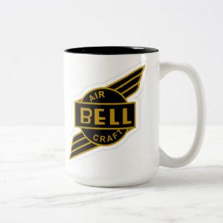 Bell Aircraft Two-Tone Coffee Mug