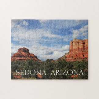 Bell and Courthouse Rock Jigsaw Puzzle