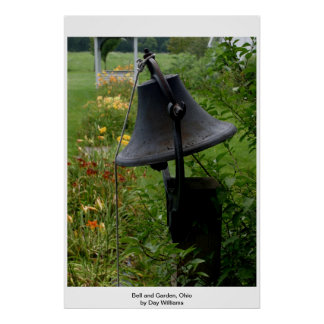 Bell and Garden, Ohio Poster