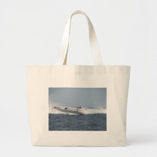 Bell and Ross Powerboat. Jumbo Tote Bag