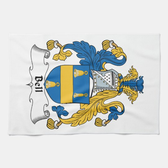 Bell Family Crest Towels