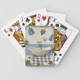Bell Flower Bath Poker Deck