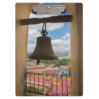 Bell in a church tower, Cuba Clipboard