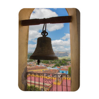 Bell in a church tower, Cuba Rectangular Photo Magnet