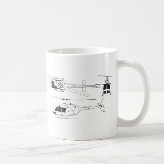 Bell Jet Ranger / TH- Coffee Mug