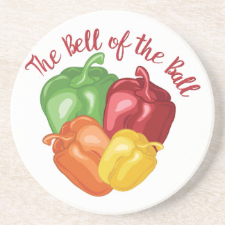 Bell Of Ball Beverage Coasters