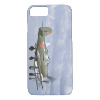 Bell P39 Airacobra, P63 King Cobra_WWII Planes iPhone 7 Case