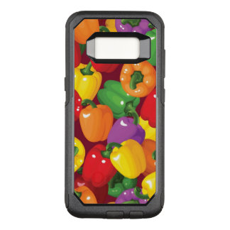 Bell Pepper Pattern OtterBox Commuter Samsung Galaxy S8 Case