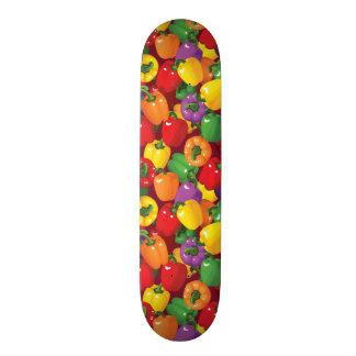 Bell Pepper Pattern Skateboard