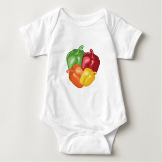 Bell Peppers Baby Bodysuit