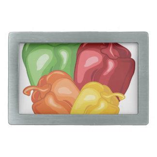 Bell Peppers Belt Buckles
