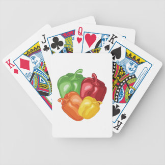Bell Peppers Bicycle Playing Cards