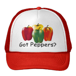 bell peppers iso, Got Peppers? Trucker Hat