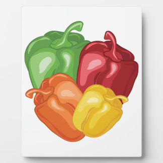 Bell Peppers Plaque