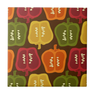 Bell Peppers Tile Trivet