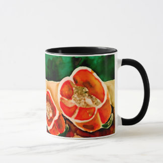 Bell Peppers Vegies Watercolor Contemporary Design Mug