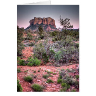 Bell rock Sedona, Arizona Card