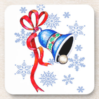 Bell & Snowflakes Coaster
