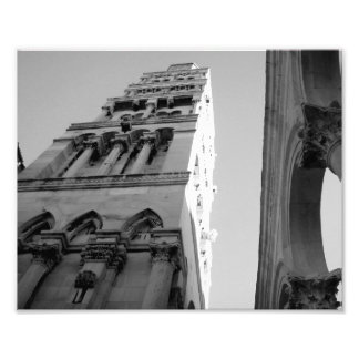 Bell Tower in Split, Croatia Photo Print