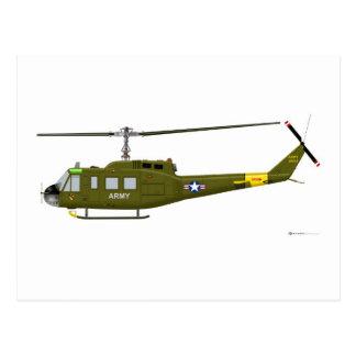 Bell UH-1D Iroquois Postcard