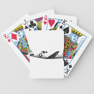 Bell_XP-77_in_flight_(SN_43-34916) Bicycle Playing Cards