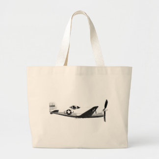 Bell_XP-77_in_flight_(SN_43-34916) Large Tote Bag