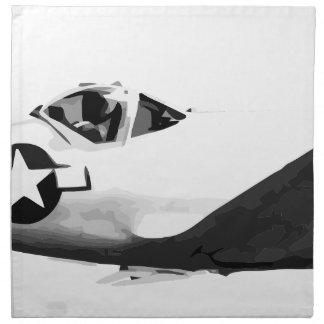 Bell_XP-77_in_flight_(SN_43-34916) Napkin